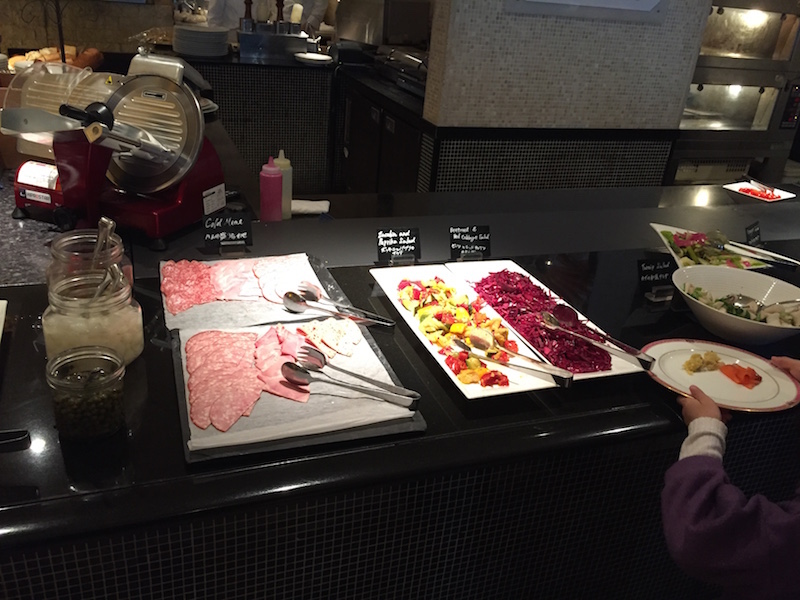 ザ・テラス(ウェスティンホテル)の前菜