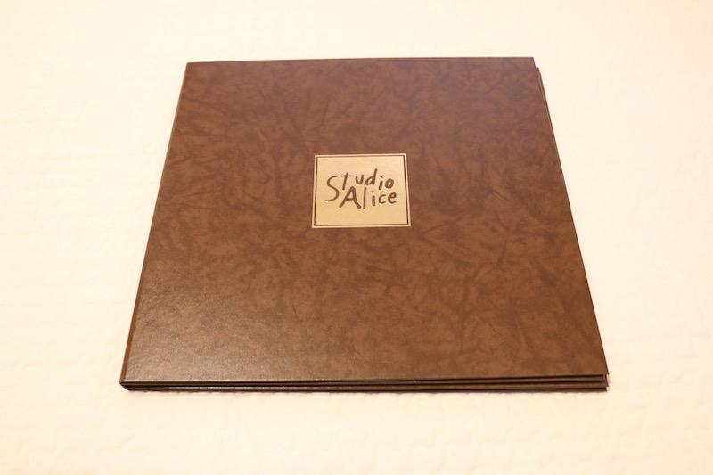 スタジオアリス購入品:六切写真(オリジナル台紙)