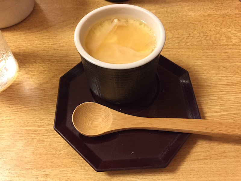 阿部の会席料理(茶碗蒸し)