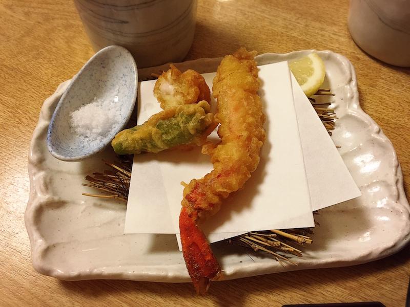 阿部の会席料理(天ぷら)