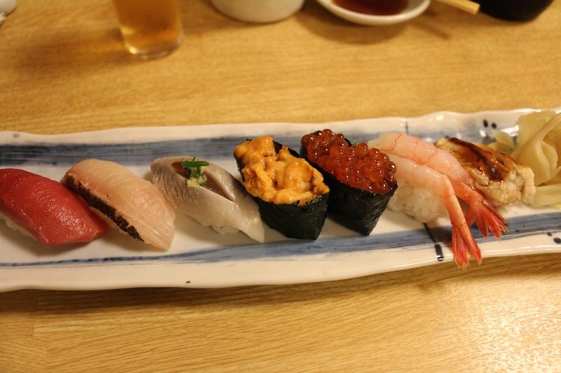 阿部の会席料理(お寿司)