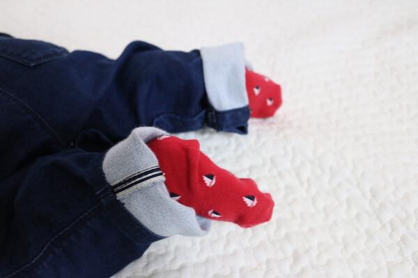 プチバトー靴下