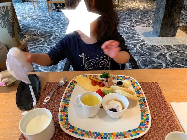 お子様用朝食御膳
