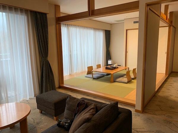 箱根翡翠デラックスツイン+畳(タイプB)