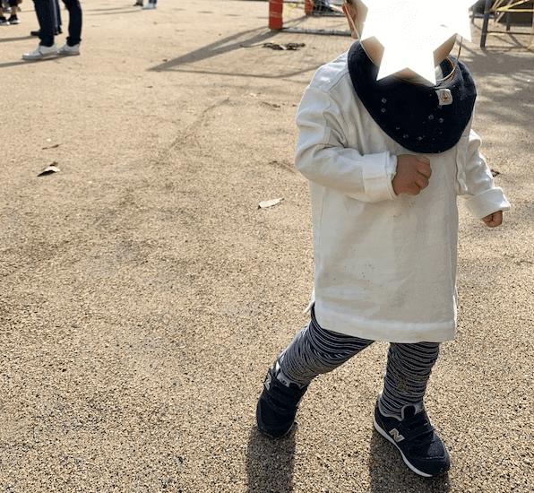 保育園の服装(秋冬)